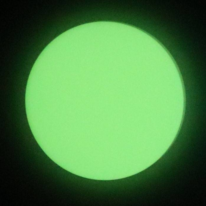 Glow in the dark groen